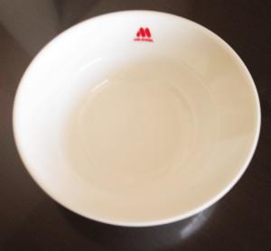 モスバーガーの皿