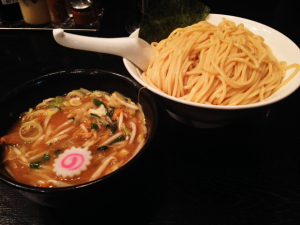 野菜つけ麺
