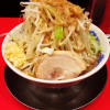 ラーメン(野菜ダブル、ニンニク、アブラ)