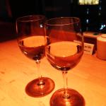 ドリンクの白ワイン