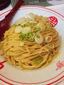 五目ヒヤミの麺